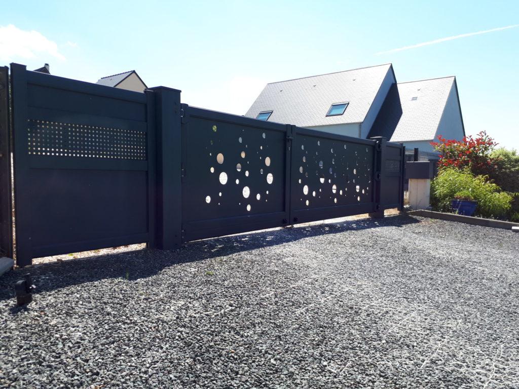 portail design maison
